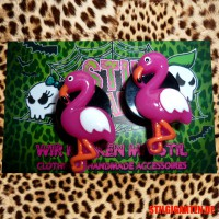 "Plug ""Comic Flamingo"""