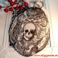 """Schlüssel-,Taschenanhänger """"Ornament Skull"""""""