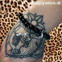 Armband Kuhschaedel NEU II