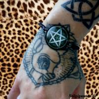 Armband 25mm Pentagramm