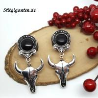 plugs-kuhschaedel-schwarzer-stein