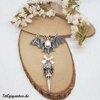 kette-bat-und-birdskull-silber