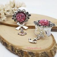 plugs-anker-klein-rosa-glitzer