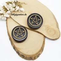 Plugs Pentagramm 24mm