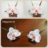Haarkamm Orchidee GROSS einzeln