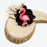 Ring Rose Flamingo