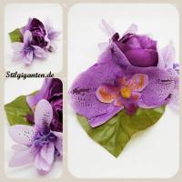 Blume LILA Orchidee NEU