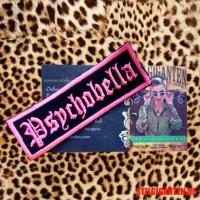 Aufnaeher Psychobella pink