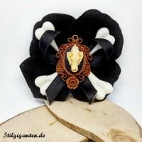 Blume Wolsschaedel schwarz