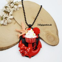 Kette KAWAII Anker cupcake