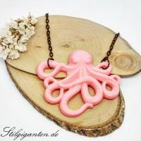 Kette Oktopussy pink