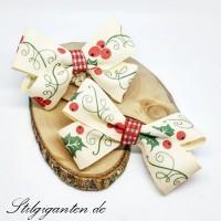 Set Weihnachtschleifen