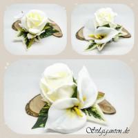 Blume lilie Rose weiss