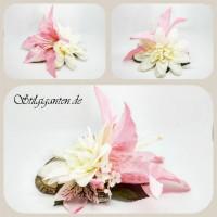 Blume rosa Lilie gross
