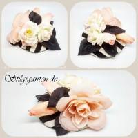 Headpiece Streifen Rose ROSA