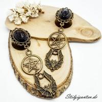 Plugs Fledermaus Pentagramm