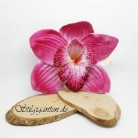 Blume Orchidee pink Schaumstoff