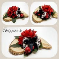 Blume klein flauschi schleife