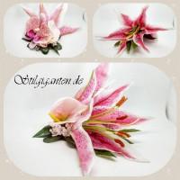 Blume tigerlilie pink