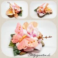Blume Schmetterling ROSA