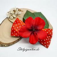 Schleife Blume ROT